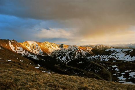 Sunset Loveland Pass Colorado