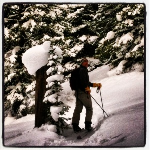 Backcountry travelers need to stay tuned to avalanche warnings the next few days. Photo by Dylan Berwyn.