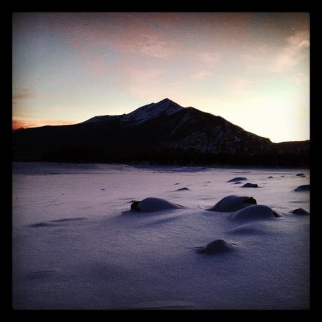Peak One Summit County Colorado