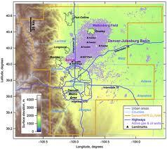 Methane leakage from the gas production fields of northeastern Colorado may be twice as high as previously estimated, according to new research from NOAA.