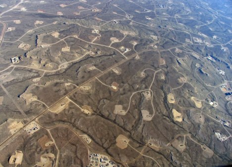 The proliferation of oil and gas drilling in Colorado raises serious questions about water quality impacts. Photo courtesy SkyTruth.