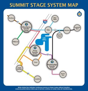 The Summit Stage free transit system serves thousands of riders each day/