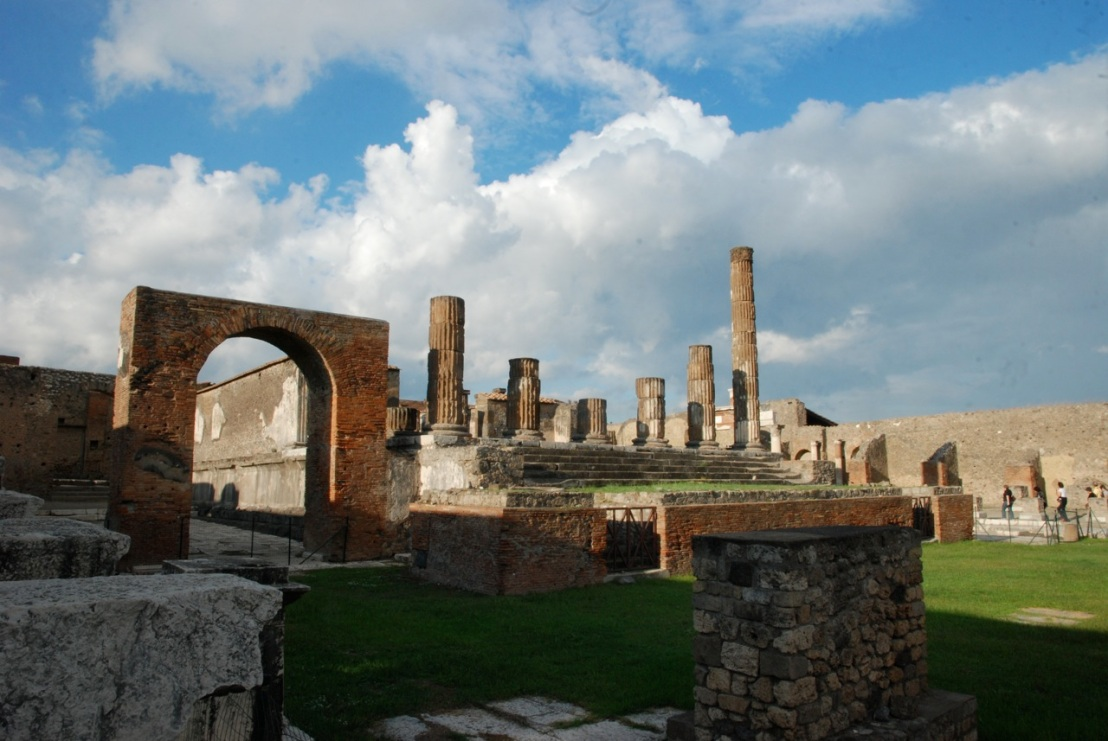 Pompeii was one of Rome's great urban centers until, well, you know ...