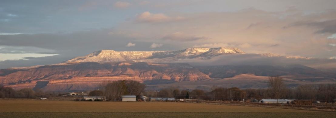 Grand Mesa Colorado.