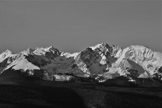 Every time I post a black and white set, I try to find at least one image that expresses a little bit of what Ansel Adams conveyed in his landscape shots.