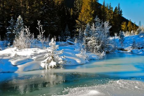 Winter in Snake River country, Colorado
