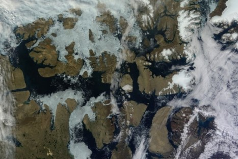 Satellites have long been tracking sea ice loss in the Canadian Arctic, and new climate models suggest that glaciers in the region are also declining rapidly. Visit this NASA Earth Observatory page for more information.