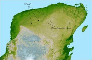 Chicxulub crater NASA earth observatory