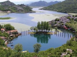 This picture shows Spring Karuč on the bottom of Skadar Lake.