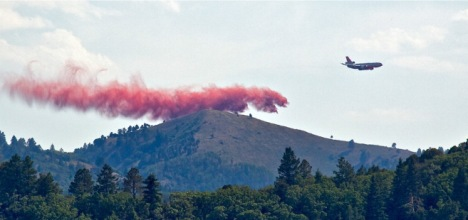 Feds mobilizing air resources for wildfire season. PHOTO COURTESY KARI GREER/USFS.