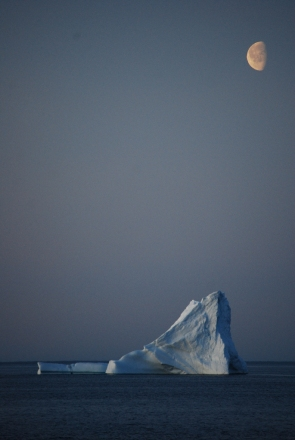 A new study helps pinpoint how many icebergs may from as Greenland's glaciers are subjected to global warming. Photo courtesy British Antarctic Survey.