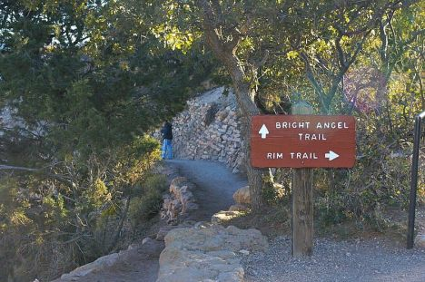 The Bright Angel trailhead at the Grand Canyon has had a big makeover, with more parking and an expanded view area