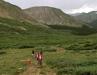 Summit County hiking Colorado