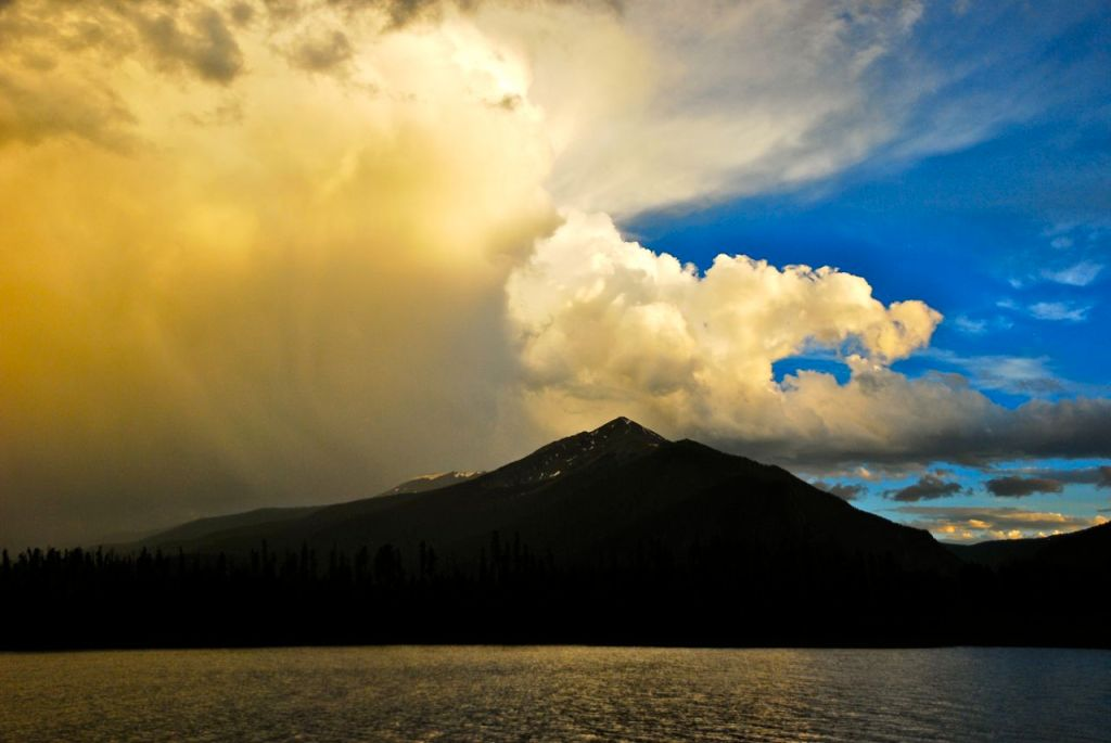 Thundercloud over Peak 1