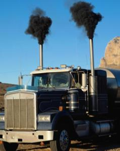 Diesel exhaust is significant regional contributor to soot pollution.