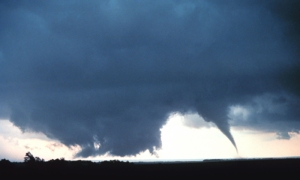 A tornado near Lakeview, Texas. Photo courtesy NOAA.