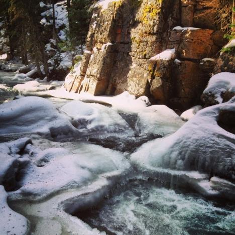 Snake River flow.