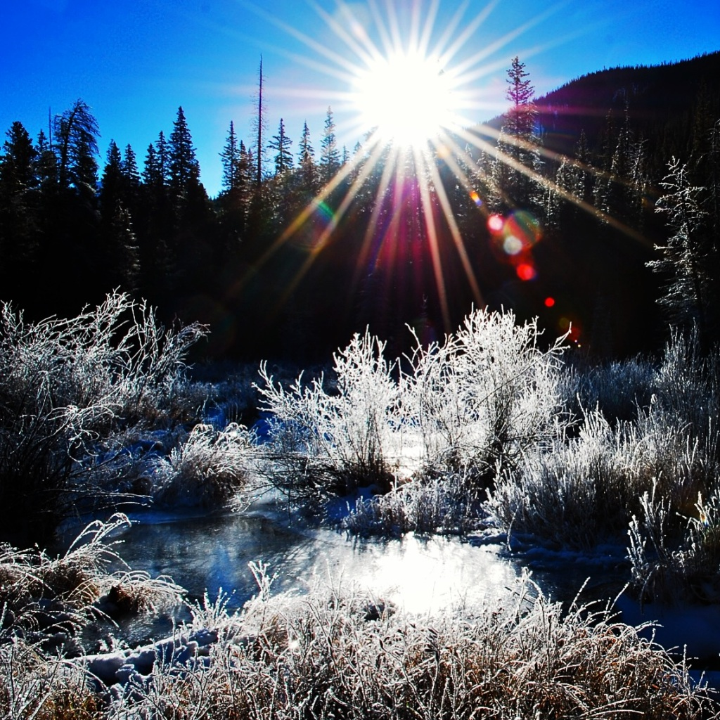 A frosty morning in the Snake River Valley near Keystone.