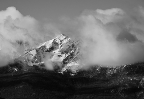 November storm clearing off the Tenmile Range.