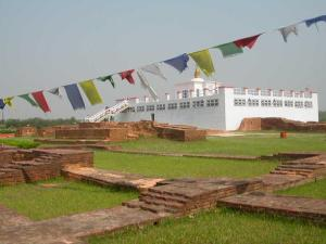 Maya Devi Temple at Lumbini