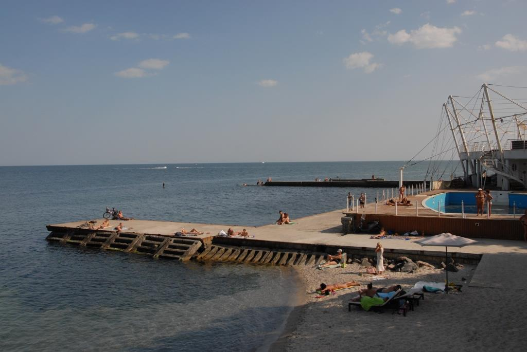 Seaside in Odessa.
