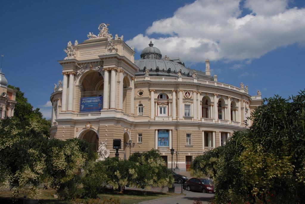Classic architecture in Odessa.