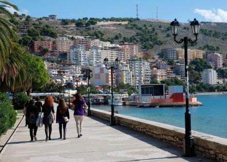 A seaside stroll.
