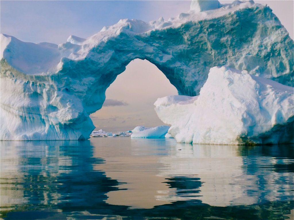 Ice Arch, Antarctica.