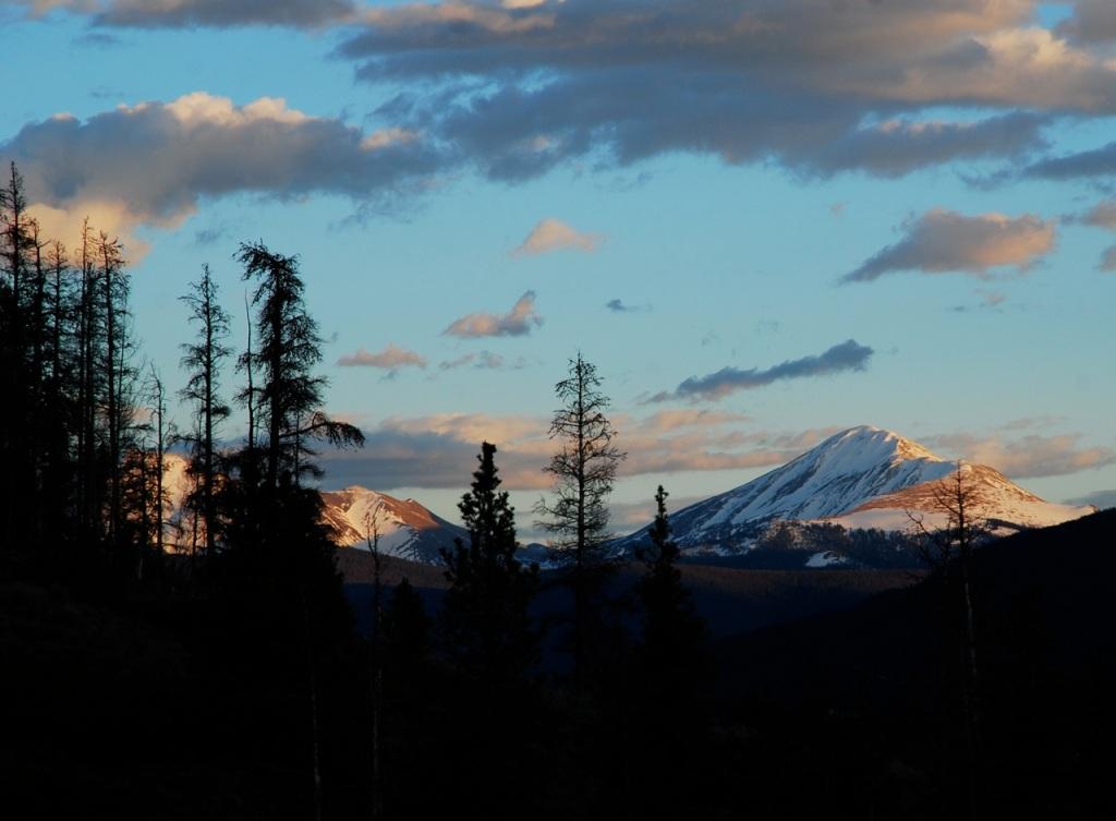 Rocky Mountain dusk.