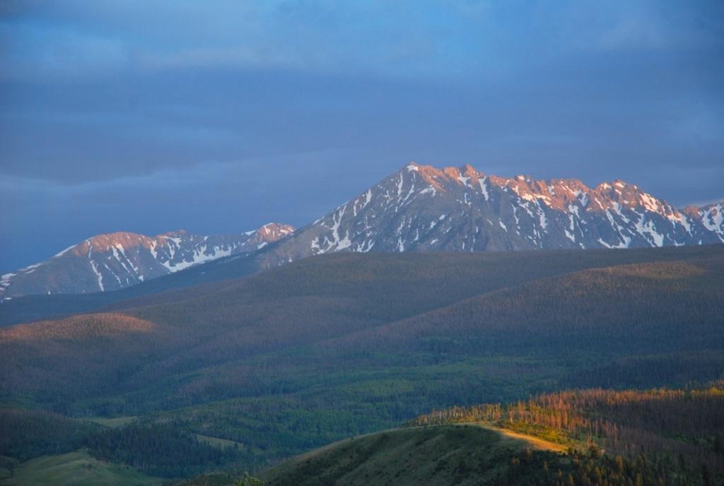 A Bierstadt moment in Colorado.
