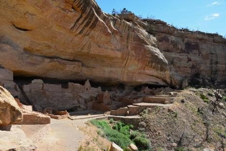 Long Dwelling, Mesa Verde National Park.