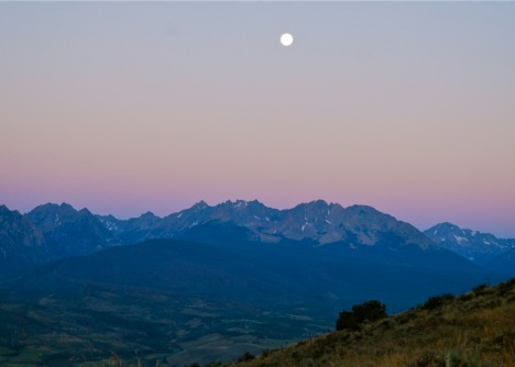Full moon Colorado