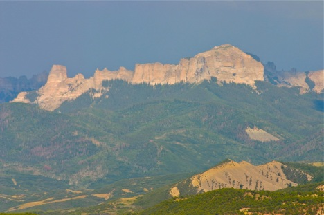San Juan mountains Colorado