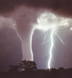 A new NOAA study tracks the occurrence of seasonal tornadoes across the U.S.