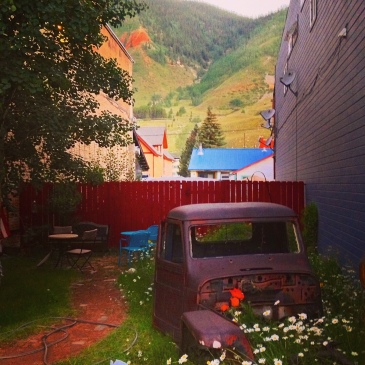 Another edit of an image in a Silverton alley.