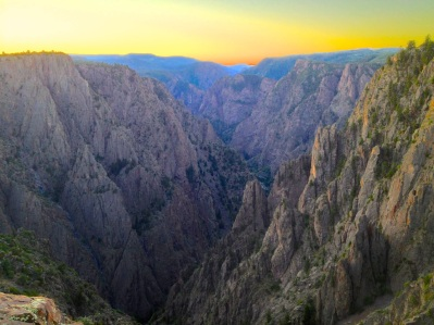 During the same roadtrip I had a chance to watch the sun rise over the Black Canyon of the Gunnison and later made this edit.