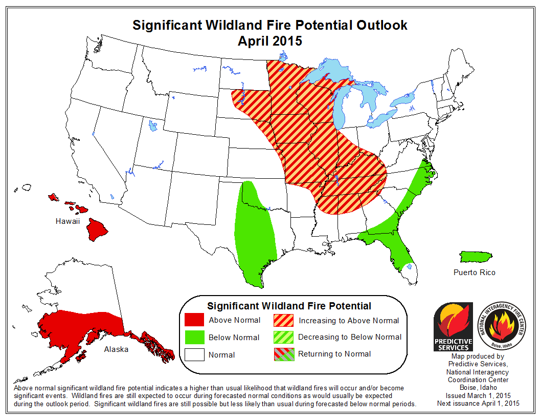 Wildfire Season Starts Slow For D Year In A Row Summit County - Us wildland fire potential map