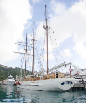 The winner of the 5 Gyres video contest will join the crew of the Mystic on a scientific sailing expedition. Photo courtesy % Gyres.