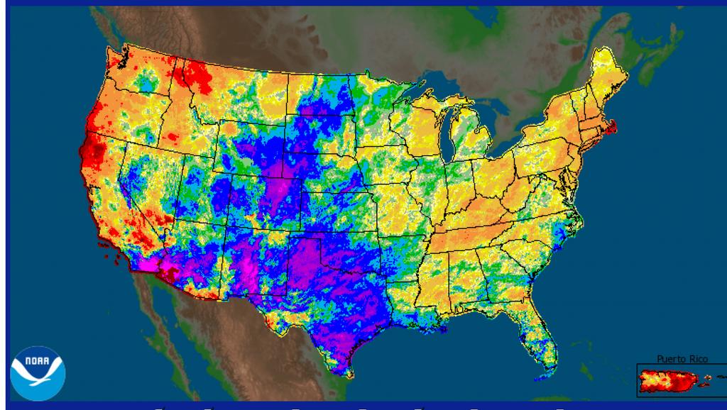 Us Precipitation Map Globalinterco - Percipitation map of us