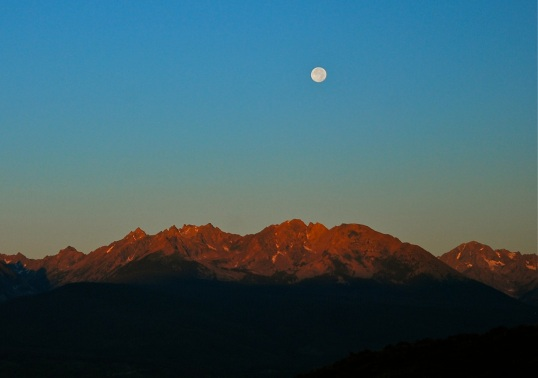 Moonrise, Gore Range..