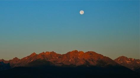The Gore Range, Colorado.