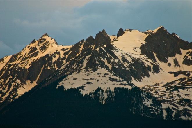 Gore Range peaks.