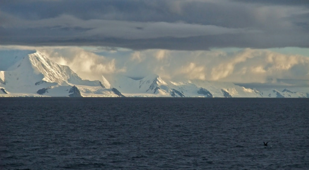 Clouds over Antarctica. @bberwyn photo.