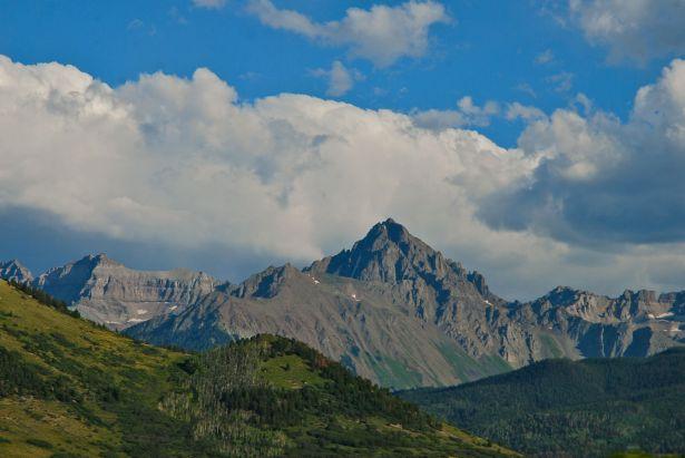 Mt. Sneffels.