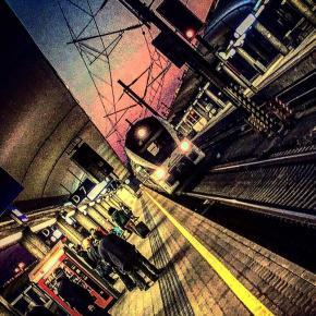 Evening train, platform 7.