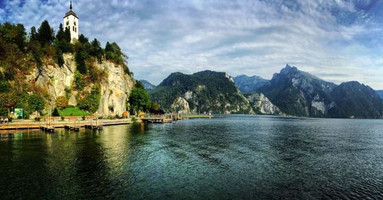 At Traunsee, Austria.