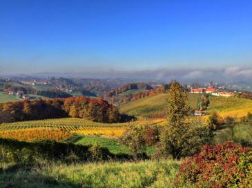 The hills of Styria.