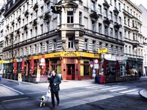 Ecke Neubaugasse und Lindengasse Wien