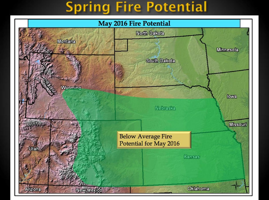 spring wildfire outlook rocky mountains