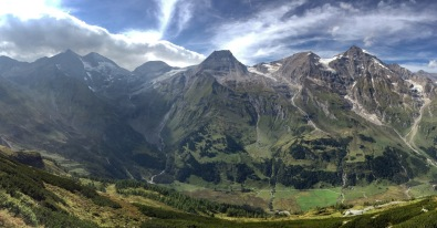 Among the peaks of the Grossglockner mountains.